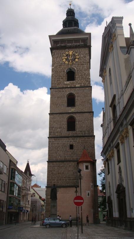 Torre de vigia com 72 m, construída entre 1549 e 1578 em estilo gótico-renascentista.
